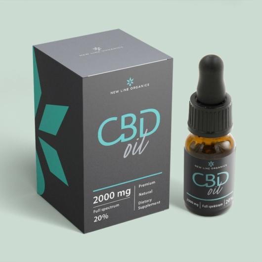 Teljes spektrumú CBD olaj 20% (10 ml)